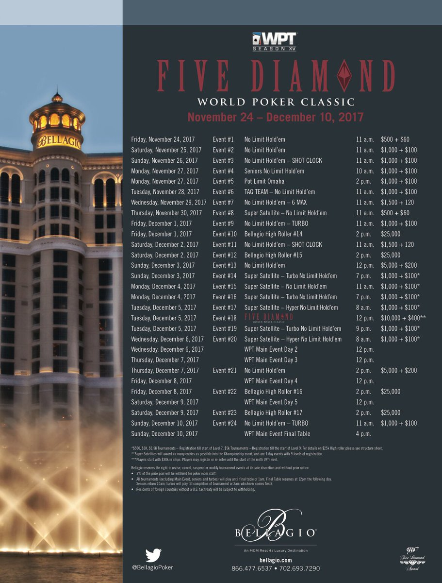 Bellagio_WPT_Schedule