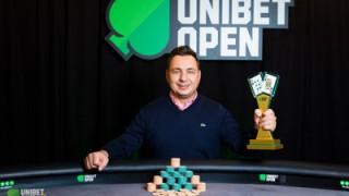 Turniersieg für Marius Pertea