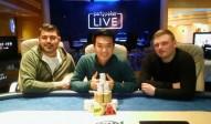 Dreifache Freude bei der Hold'em Championship