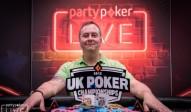 Chris Brice gewinnt die partypoker UK Poker Championship