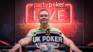 Chris Brice gewinnt die partypoker UK Poker Championship