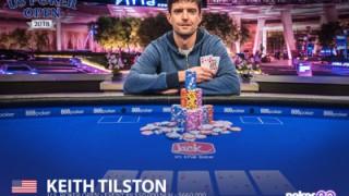 Großer Triumph für Keith Tilston