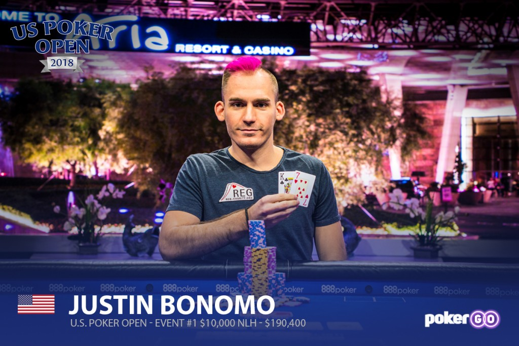 US Poker Open Event #1 Justin Bonomo