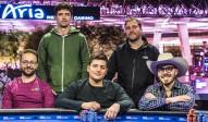 2018 US Poker Open, die fünf Finalisten beim Main Event