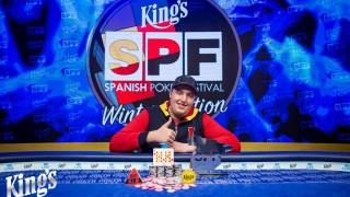 Mykyta Andrusiak ist der neue Champion des Spanish Poker Festival