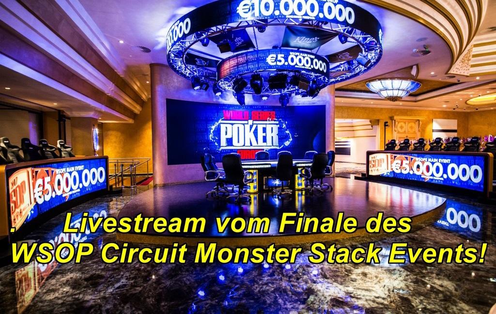 Livestream Monster Stack Finale