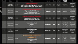 Triple A Series Turnierplan