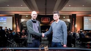 Heads Up Stephen Chidwick (GBR) und Jake Schindler (USA)