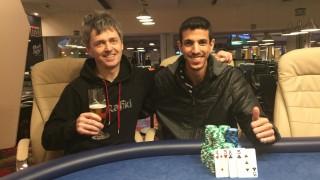 Shalom Sharabi (ISR) und Tomas Holman (CZE)