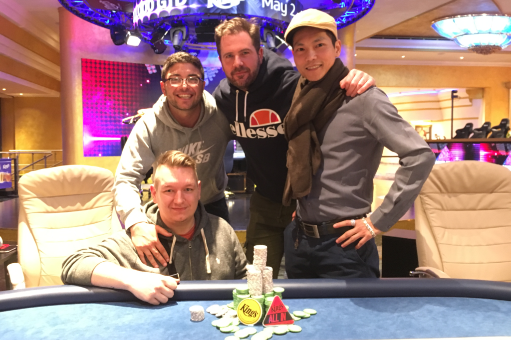 winner pic Kings Single Day High Roller