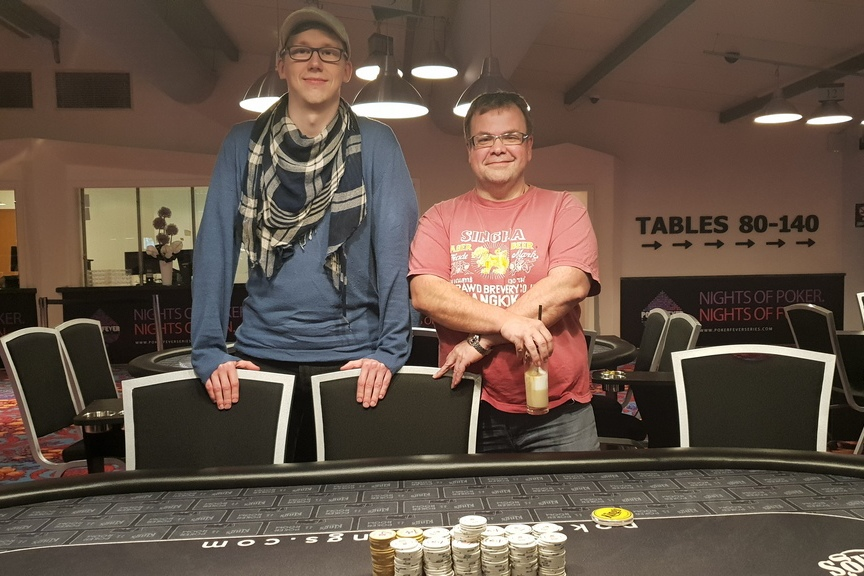 winner pic Kings Turbo Deepstack Event