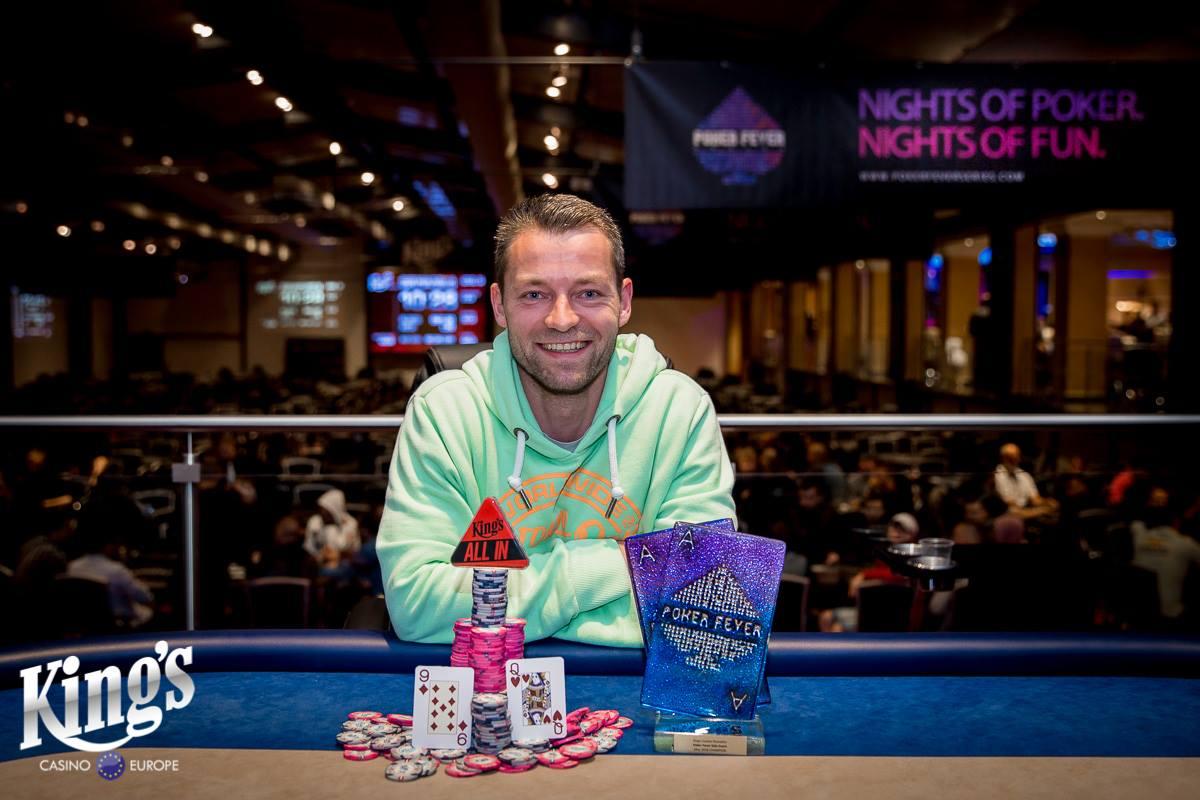 winner pic Poker Fever Cup