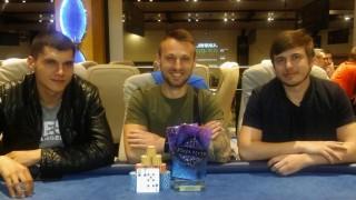 Die Gewinner des Poker Fever Team Event