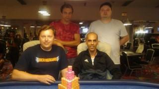 Die Gewinner des King's Hold'em Championship Event