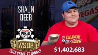 Großer Erfolg für Shaun Deeb