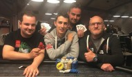 Die Gewinner des GPD Pot Limit Omaha Event