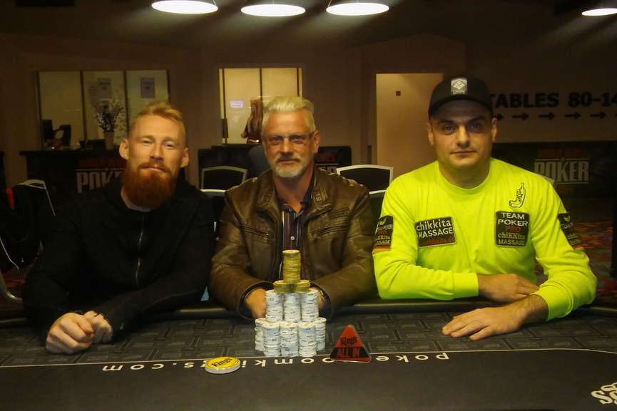 27.09.2018winner pic Kings Daily NLH Tournament