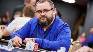Aleksandr Chernikov sammelte gestern die meisten Chips