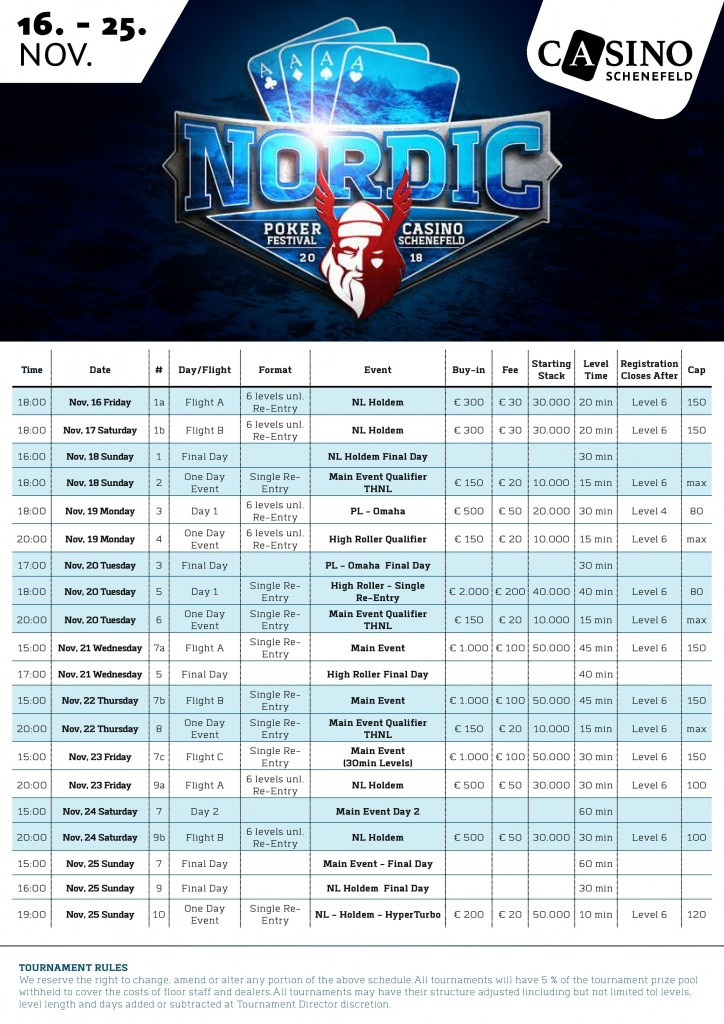 Nordic_Poker_Festival_2018_New_Schedule