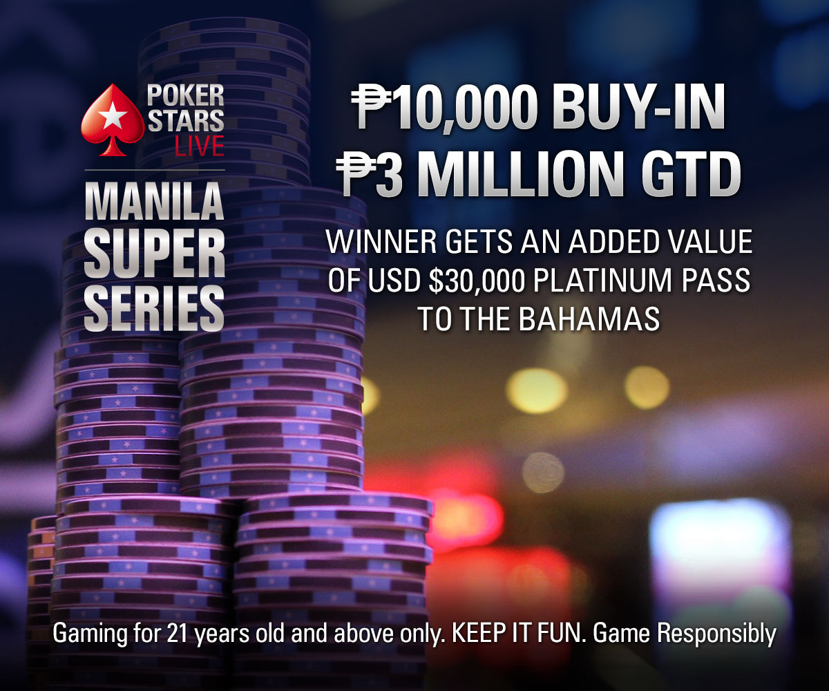 PokerStars Live Manila Super Series 9 ₱10,000 buy-in Main Event