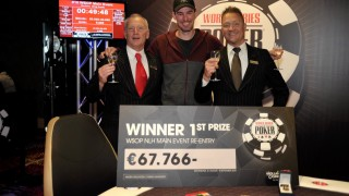 Tobias Peters ist der WSOPC Main Event Champion