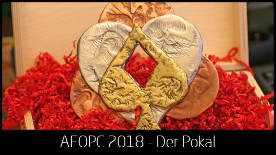 Die Trophäe der AFOPC 2018