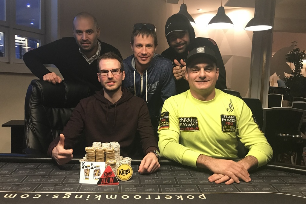 15102018winner pic Kings Daily NLH Tournament