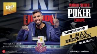 16102018winner pic WSOP Europe NLH 6-Max Bracelet #2