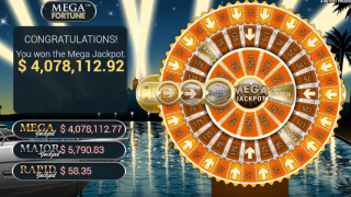 $4 million Mega Fortune jackpot at PokerStars Casino