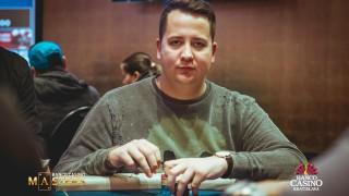 Alan Sabo ist der erste Chipleader