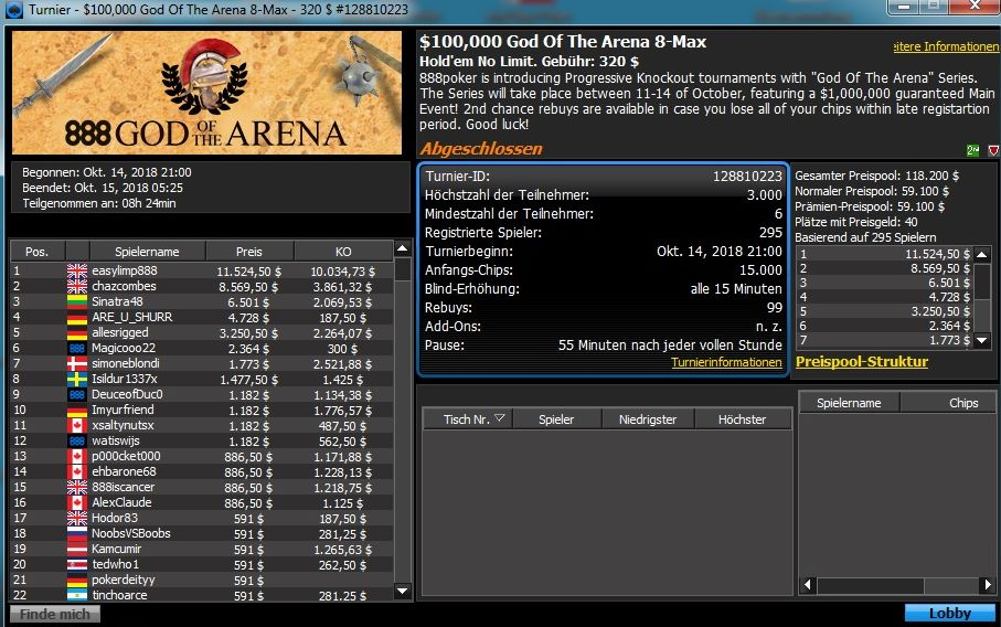 God of the Arena 320