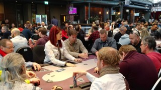 Turnierbereich beim Nordic Poker Main Event