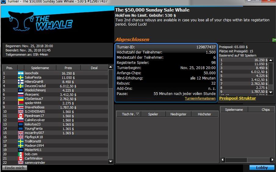 Sale Whale