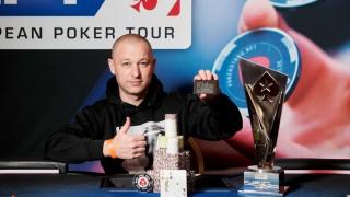 Boris Mondrus (ISR) gewinnt die EPT Prag National