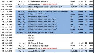 CSS Turnierplan Januar 2019