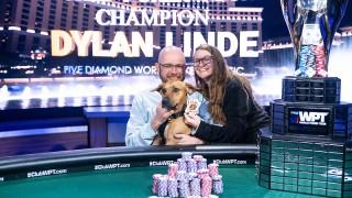 Dylan Linde mit Hund, Frau und Sieg
