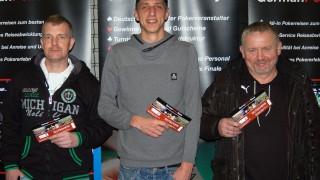Die drei Gewinner des Side Events