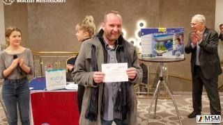 Riko Köhn der Gewinner des Spendenrad