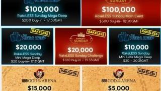 RakeLessSunday Tournaments