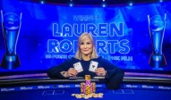 Überraschungssiegerin Lauren Roberts