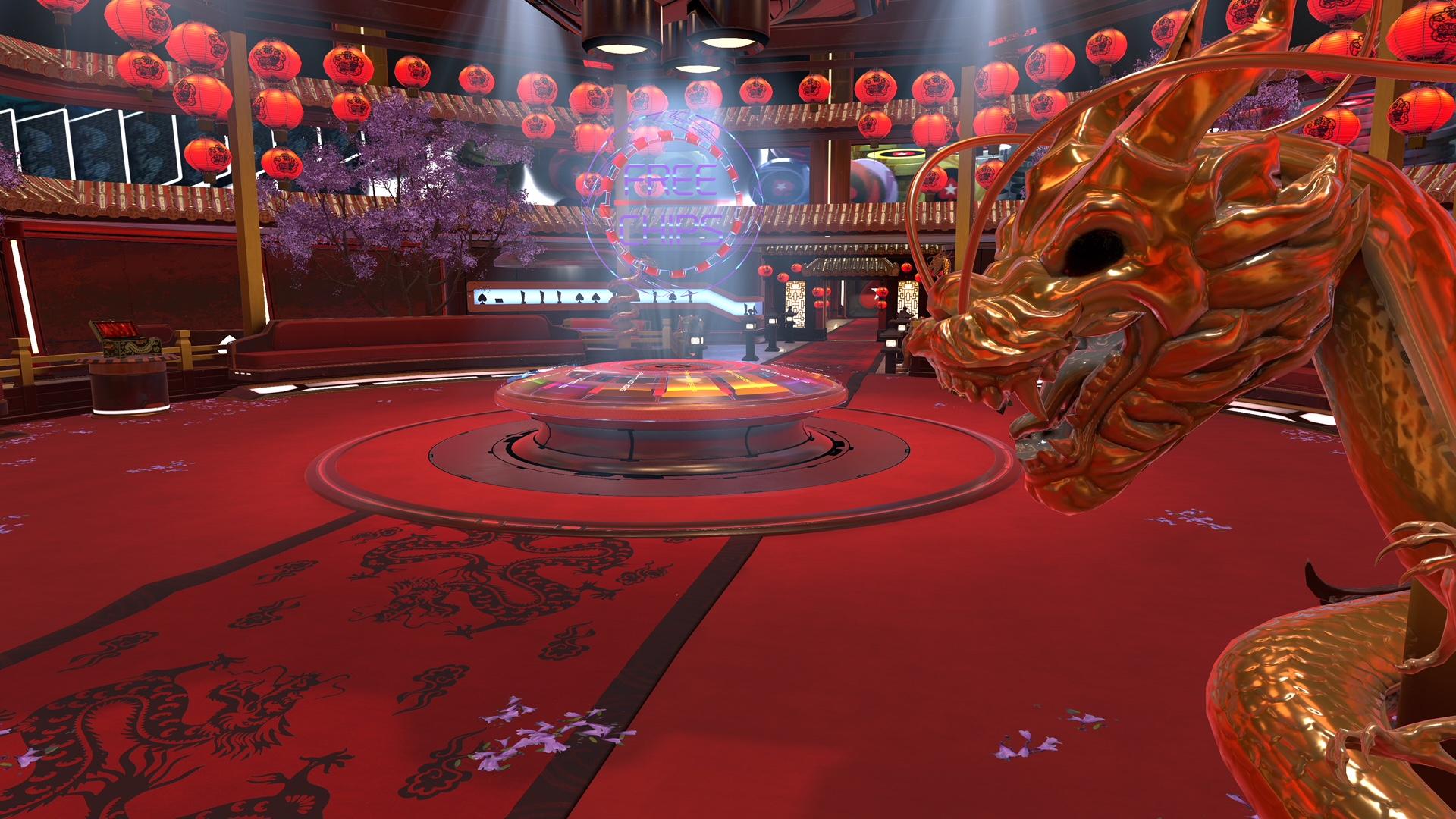 PokerStarsVR Lobby Lunar New Year