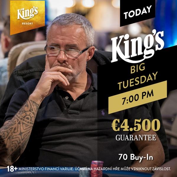 23.4. Kings BIG tuesday