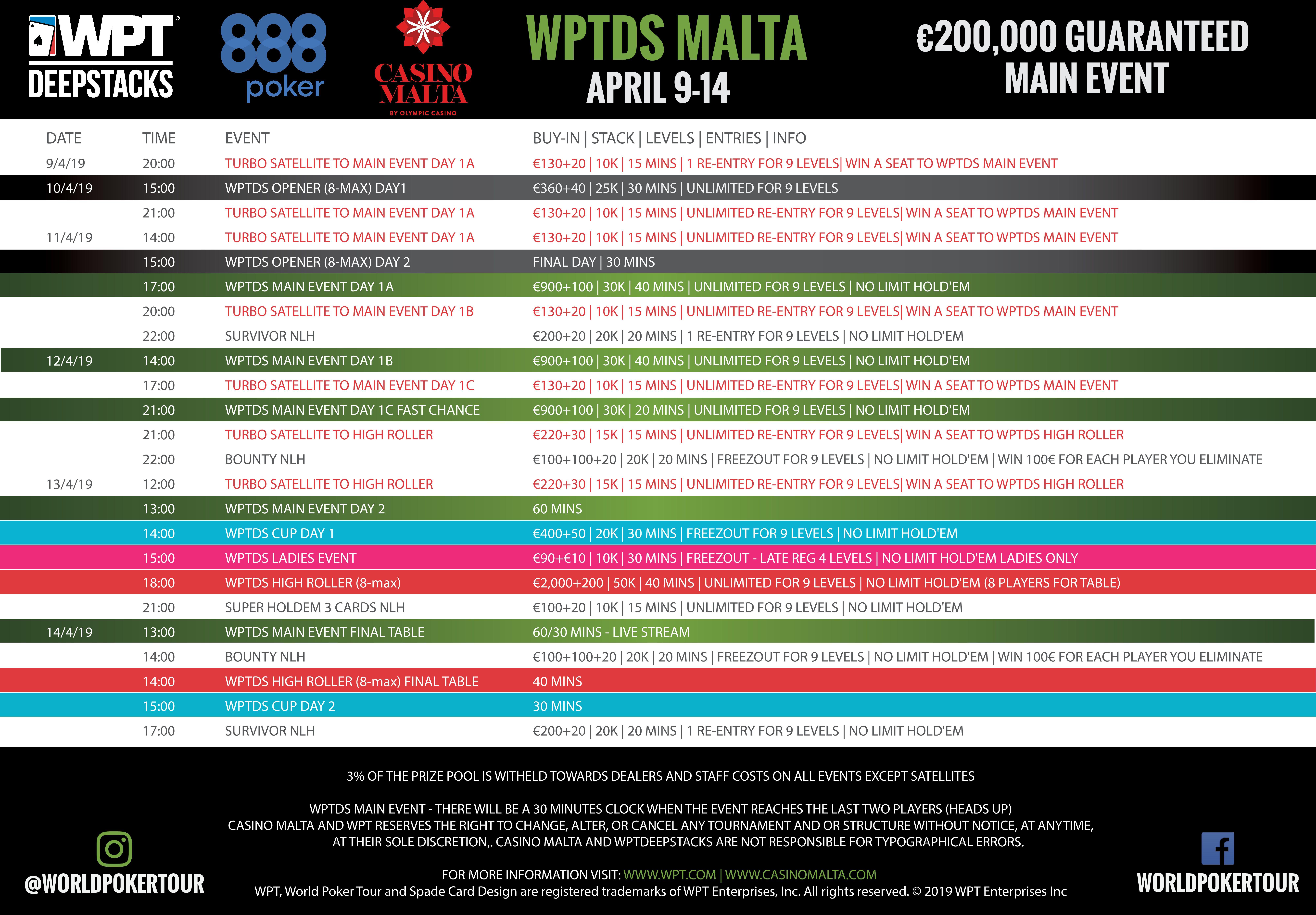 WPTDS-Malta-schedule-2019
