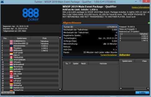 WSOP Qualifier