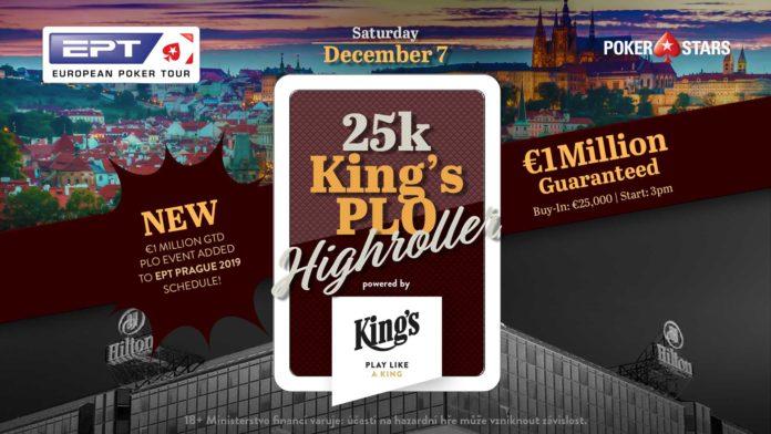 EPT Prag 2019 - 25k King's PLO Highroller