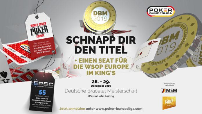 Die Deutschen Bracelet Meisterschaft 2019 – Jetzt noch die