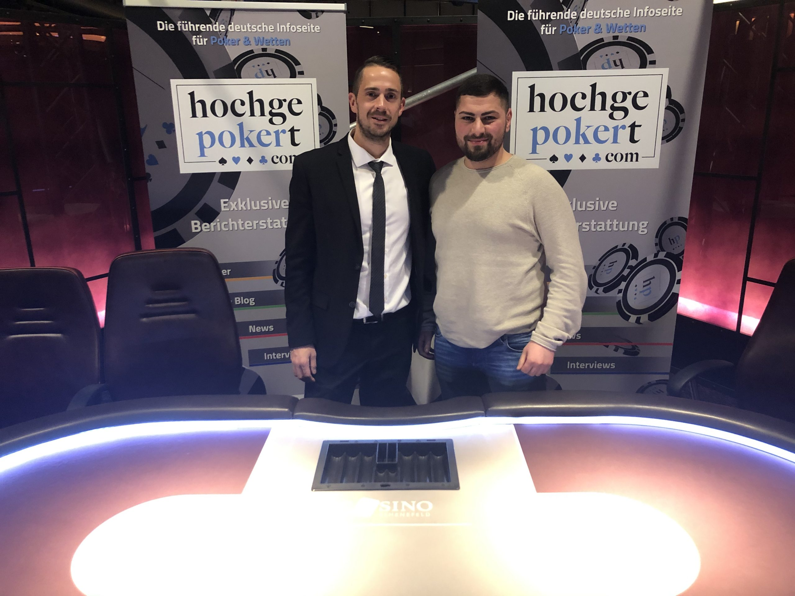 Hochgepokert Masters Main Event scarface Chipleader