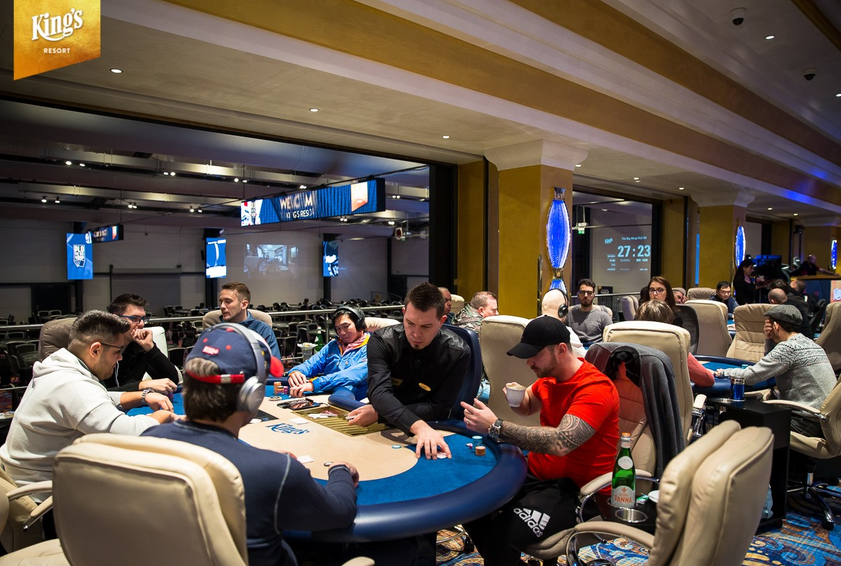 Partypoker private game