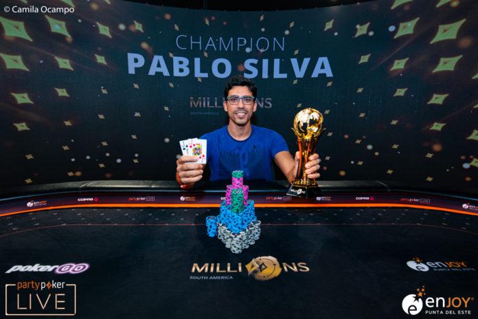 partypoker MILLIONS South America Sieger Pablo Silva